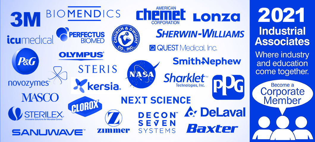 Graphic with logos of CBE Industrial Members