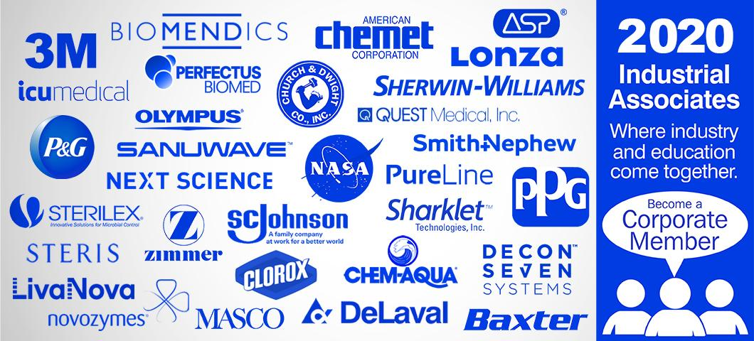 Image slider of logos of CBE Industrial Members